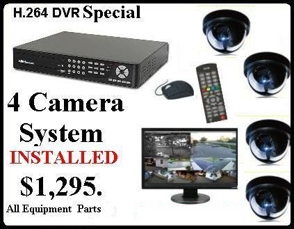 security camera system package